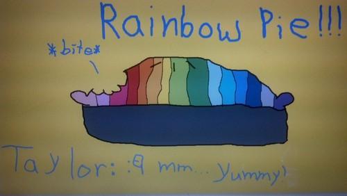 RAINBOW PIE!!!