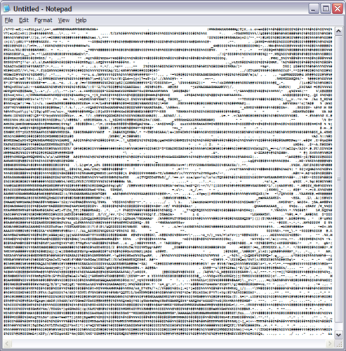 Random ASCII from http://stevendkay.wordpress.com/tag/ascii-art/