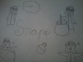Random Doodle Snape :) - snapes-family-and-friends fan art