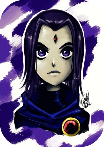 Teen Titans wallpaper titled Raven