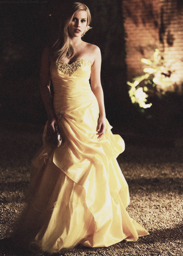 Rebekah at the prom