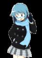 Sayaka Miki - anime fan art