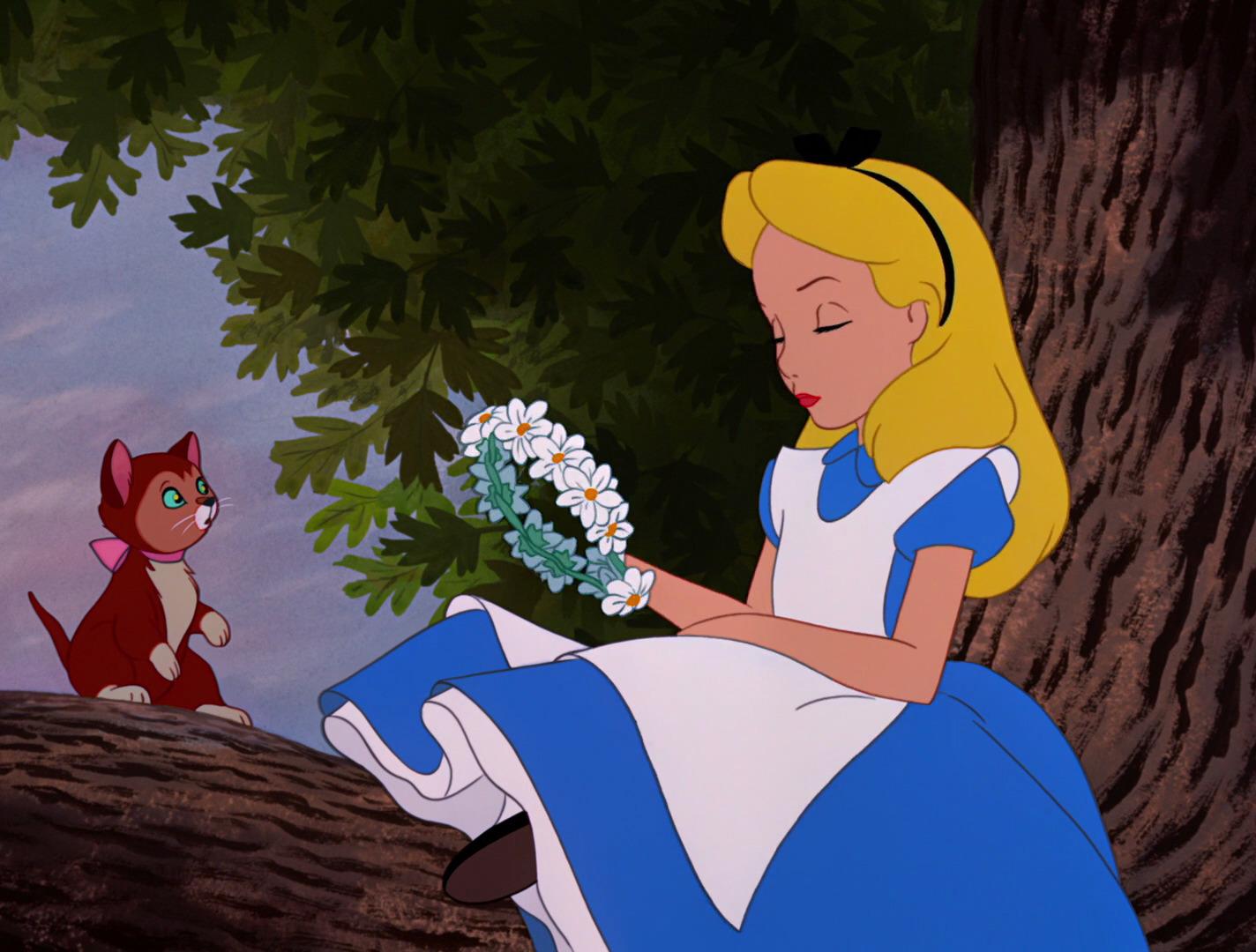 mimesis in alice in wonderland The all-pervasive influence of the tenniel-illustrations is highlighted in staples' entry on alice in wonderland in film in jack to naive mimesis.