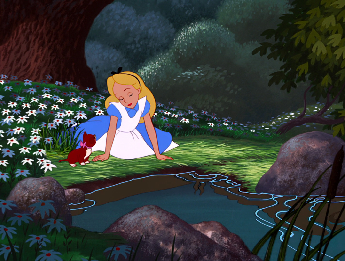 alice in wonderland images screencaps hd wallpaper and