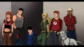 Season 1 team (casual and powerless) - young-justice photo