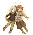 Shirou and Hiroto