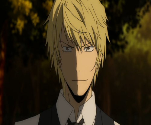 Heiwajima Shizuo kertas dinding probably containing a business suit and a suit called Shizu Chan!