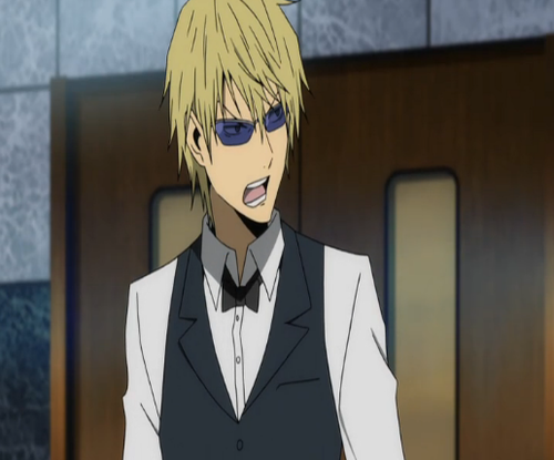Heiwajima Shizuo kertas dinding with a business suit and a suit titled Shizuo H.
