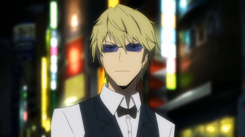Heiwajima Shizuo wallpaper with a business suit entitled Shizuo