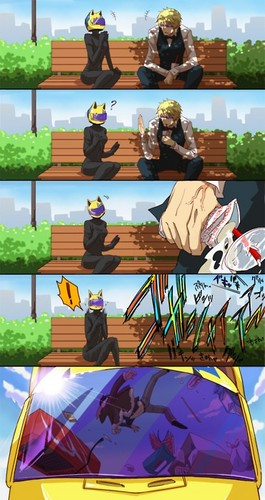 Shizuo sees Izaya