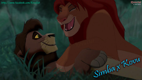 Simba x Kovu Gay pag-ibig couple ??