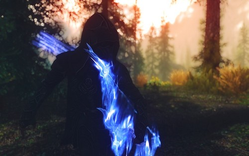 Elder Scrolls V : Skyrim karatasi la kupamba ukuta called Skyrim screenshots