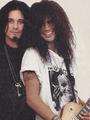 Slash and Gilby