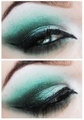 Slytherin Inspired Makeup
