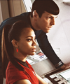 Spock x Uhura - spock-and-uhura fan art