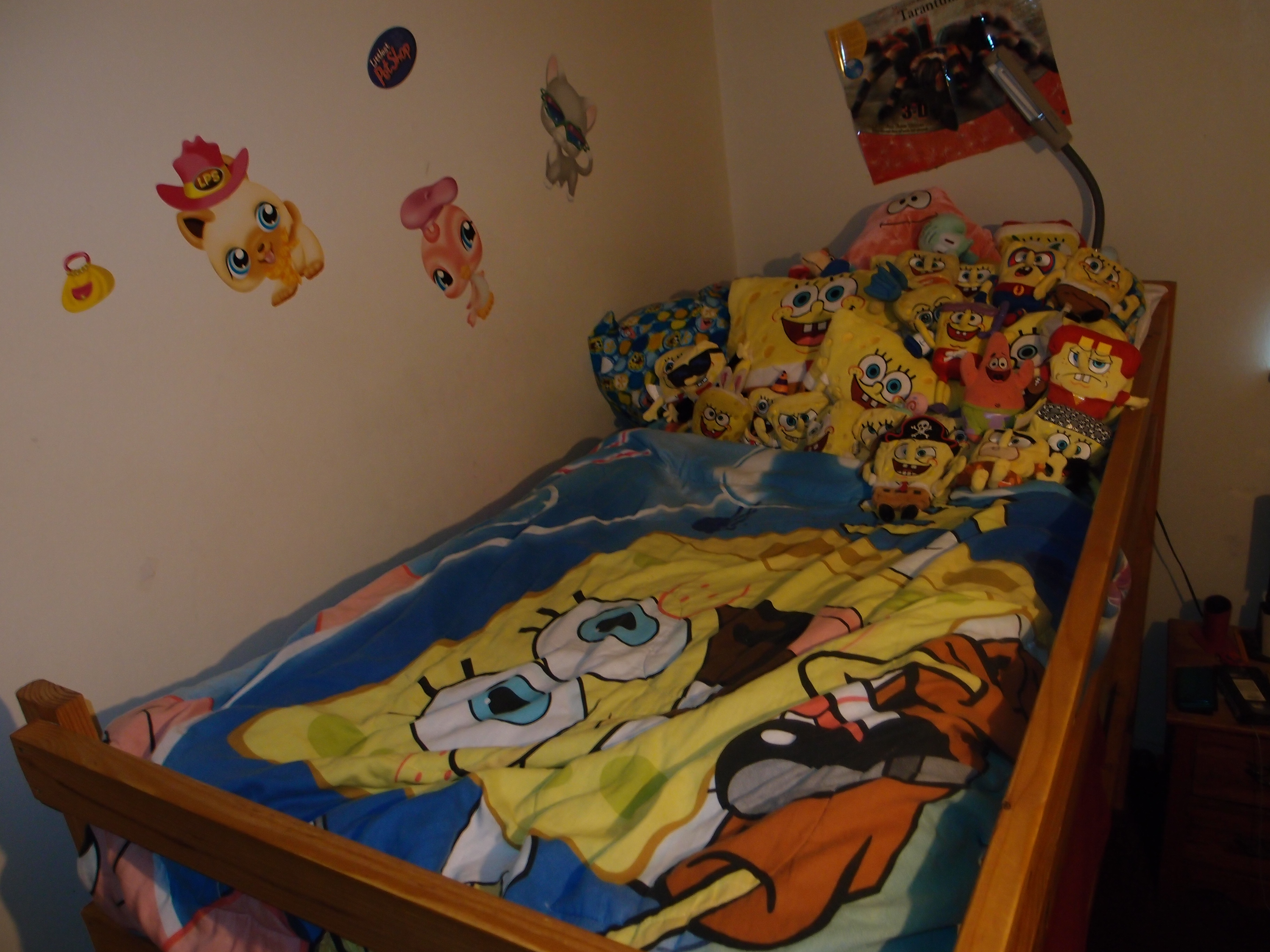 Spongebob Bed - Spongebob Squarepants Fan Art (34190567) - Fanpop