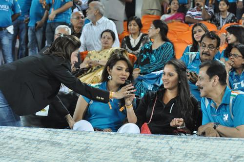 Stars At Hyderabad Vs Pune IPL Cricket Match