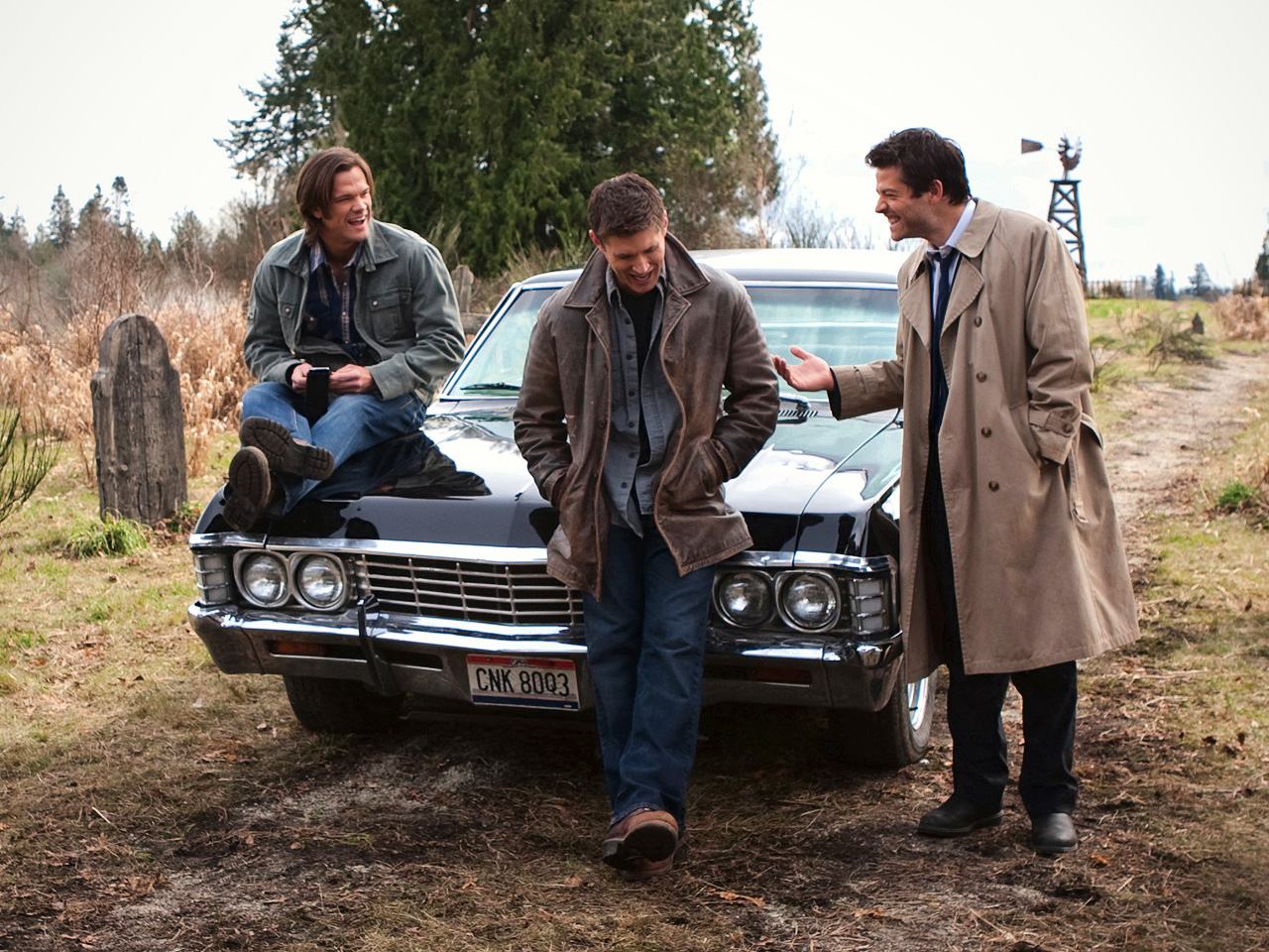 Supernatural Gt Behind The Scenes Jared Padalecki And