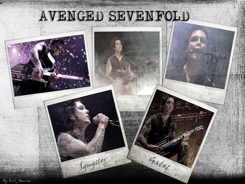 Synyster Gates A7X achtergrond