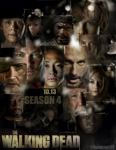 The Walking dead wallpaper titled THE WALKING DEAD SEASON 4