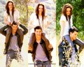 Taylor&amp;Kristen - twilight-series wallpaper