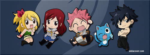 Team Natsu (chibi mode)