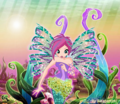 Tecna Sirenix  - the-winx-club fan art