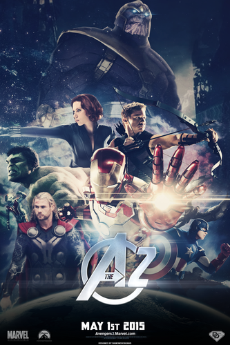 The Avengers wallpaper possibly with anime entitled The Avengers 2 (FANMADE) Teaser Poster