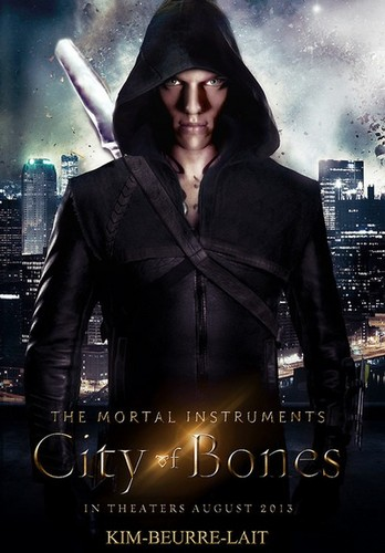 The Mortal Instruments: City of Bones; Jace Wayland Poster
