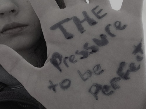 The Pressure to be Perfect