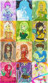 The Princesses of Adventure Time