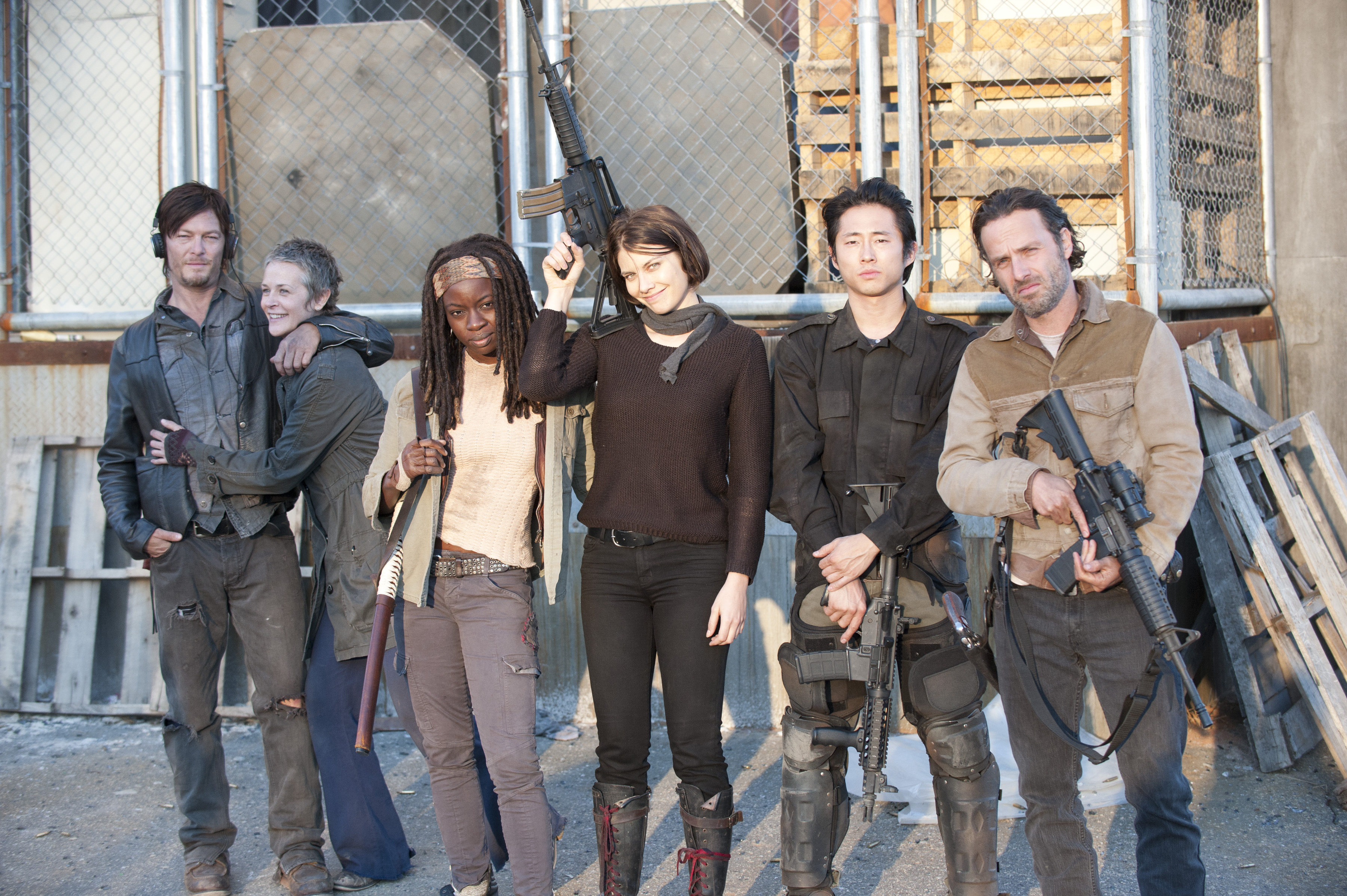 The Walking Dead - 3x16 - Welcome to the Tombs - Behind the Scenes
