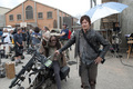 The Walking Dead - 3x16 - Welcome to the Tombs - Behind the Scenes - the-walking-dead photo