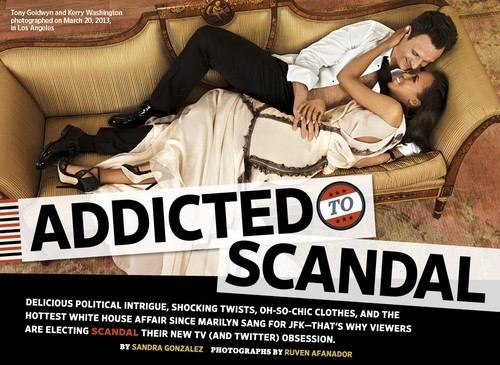 This week's cover: Crazy in amor with 'Scandal'