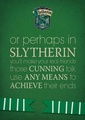 Those Cunning Slytherins - slytherin photo