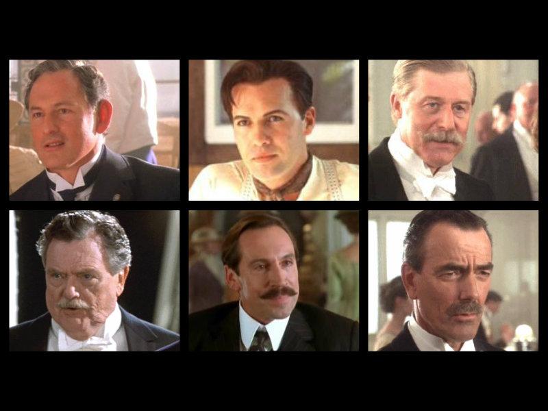টাইটানিক Characters: 1st class men