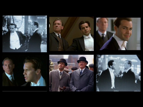Titanic Characters: cal & Lovejoy