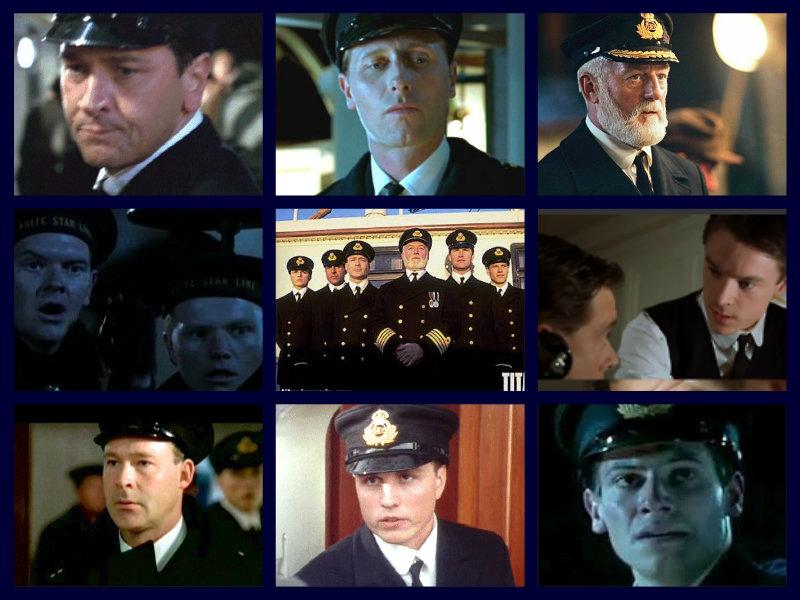 Titanic Characters: the crew