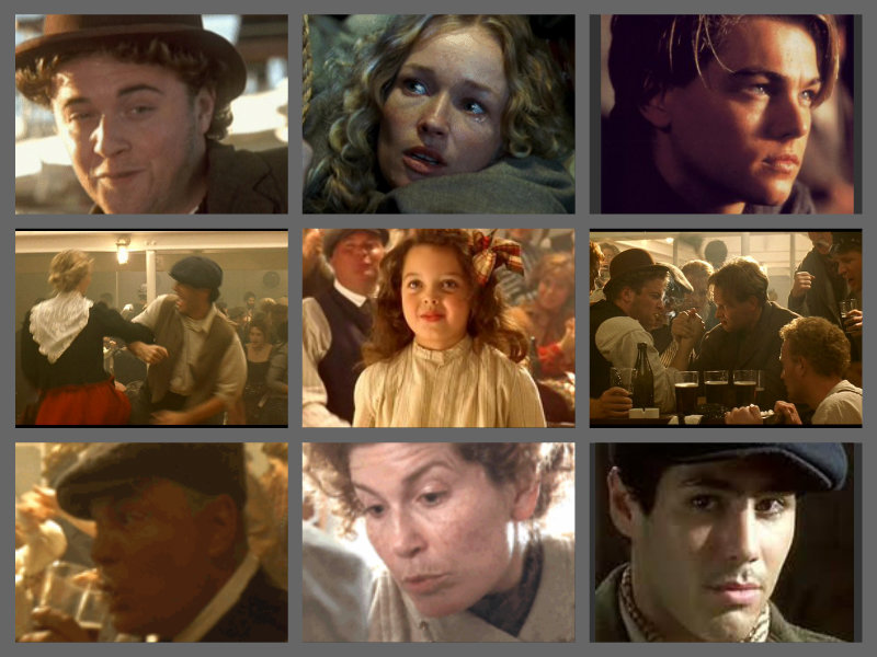 Titanic characters: 3rd class passengers