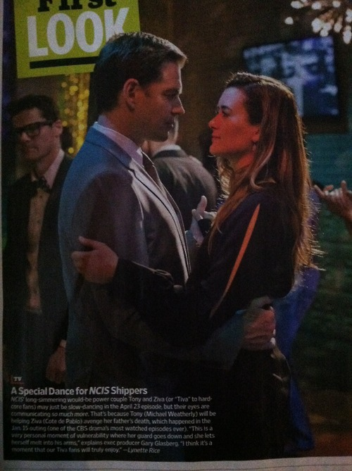 Tiva Tony and Ziva dancing!!!