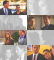 Tony and Ziva looking at each other 1 - tiva fan art