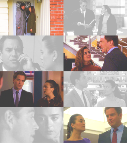 Tony and Ziva looking at each other 2