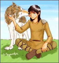 Torak and chó sói, sói