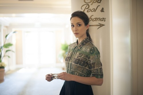 Troian modelos for Rachel Antonoff