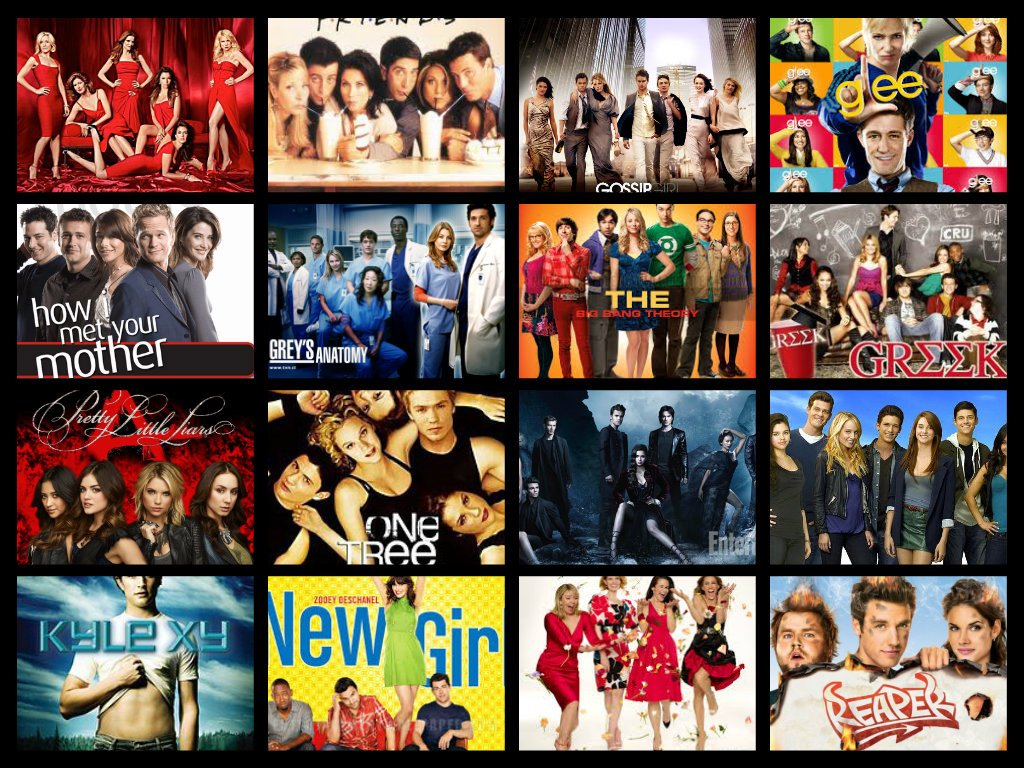 Image result for tv show collage
