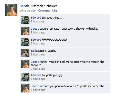Twilight Funnies -Facebook