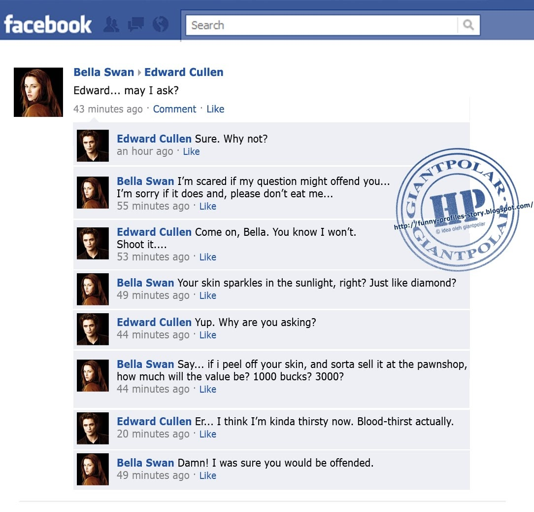 Twilight Funnies -Facebook