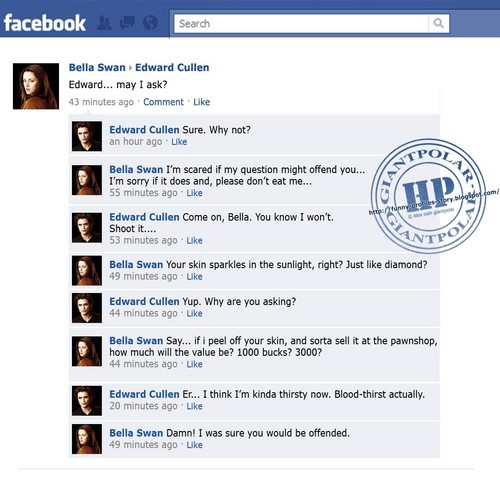Taystenfan10109 wallpaper titled Twilight Funnies -Facebook