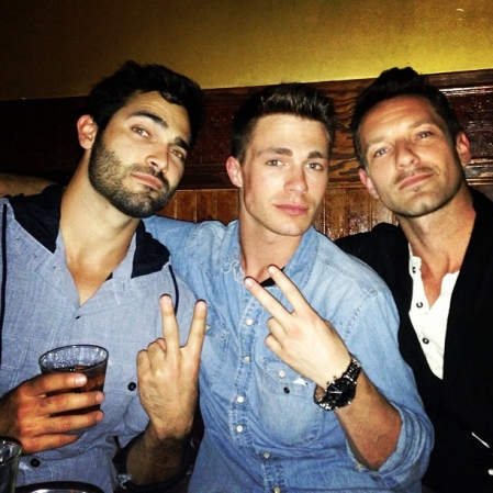Tyler Colton and Ian Bohen