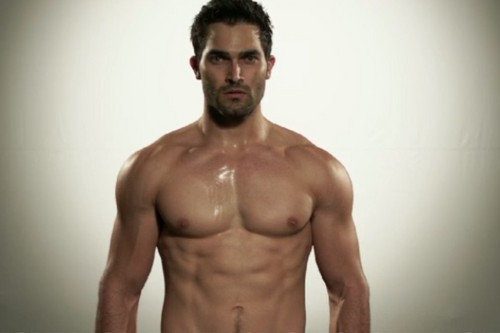 Tyler Hoechlin wallpaper containing a six pack and a pezzo, hunk titled Tyler Hoechlin